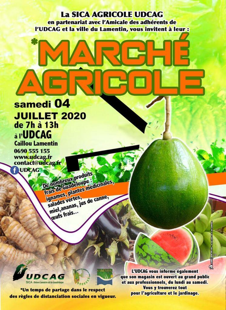 Marché Agricole Guadeloupe Bio